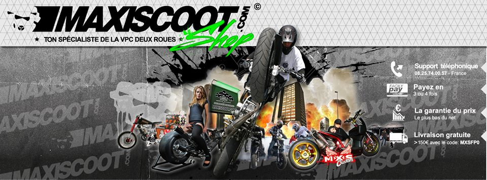 MAXISCOOT Accessoires Tuning et Pieces Scooter
