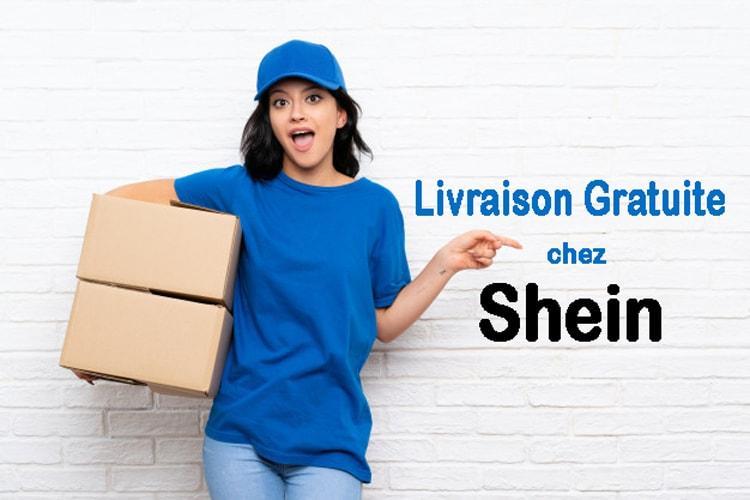 livraison gratuite chez Shein