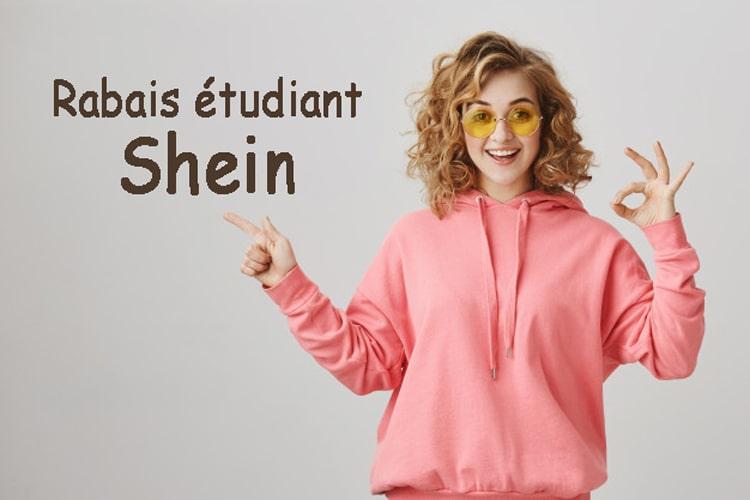 remise etudiant sur Shein