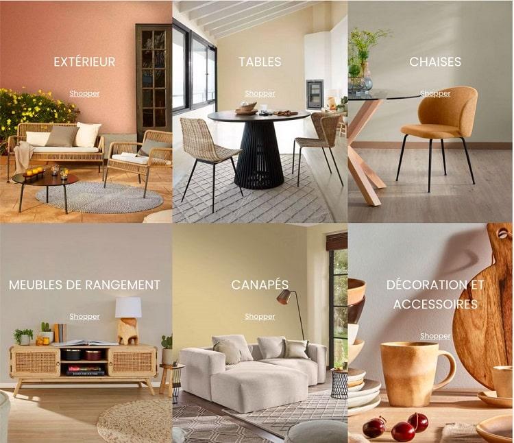 kave home meubles et decorations collection