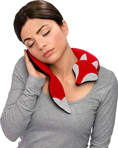 coussin chauffant pour le cou