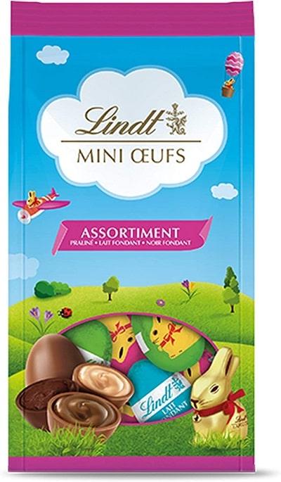 Lindt - Lapin Or - Sachet Mini oeufs Assorti
