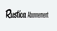 Rustica Abonnement